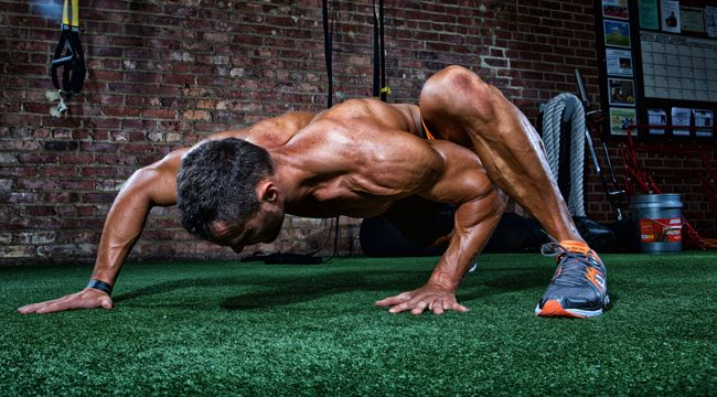 This primitive workout will leave you exhausted and fully pumped.