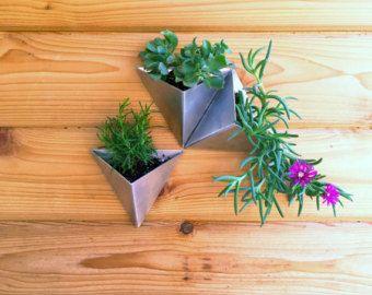 Tesselation / / 3er Satz / / moderne Wand-Pflanzer