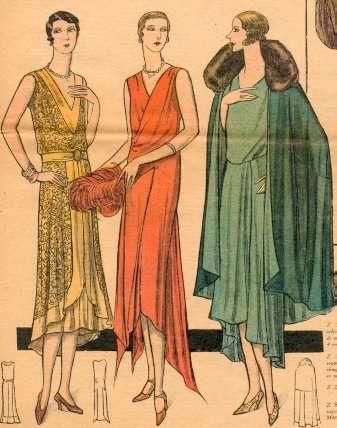 1929. Les garçonnes en robes du soir                                                                                                                                                                                 Plus