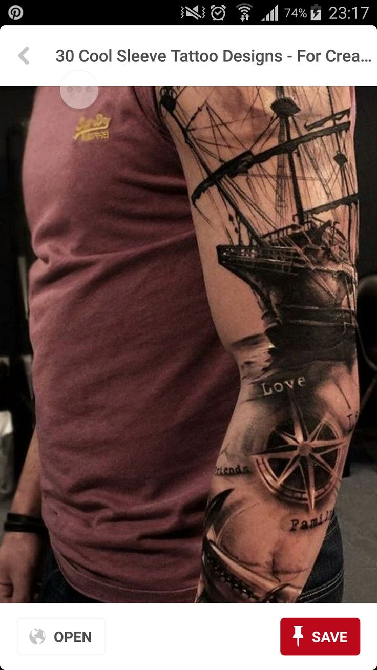 30 of the best virgo tattoo designs tattoo easily - Realistic Sleeve Tattoos Ship And Sea Theme