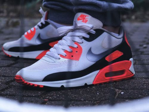 Nike Air Max 90 Hyperfuse Infrared - 2012 (bymr_whitestore)