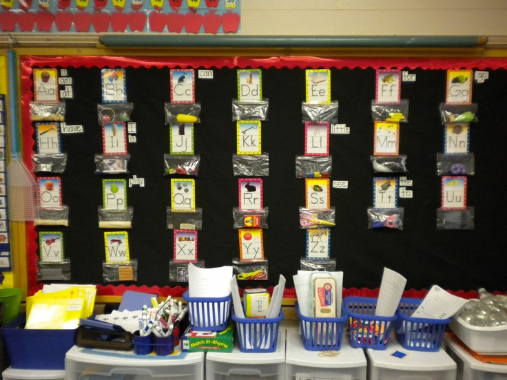 Clutter-Free Classroom: Word Walls - Setting Up the Classroom Series: Sight Words, Language Art, Bulletin Boards, Words Wall, Kindergarten Ideas, Kindergarten Alphabet, Growing Kinder, Password Ideas, Classroom Series