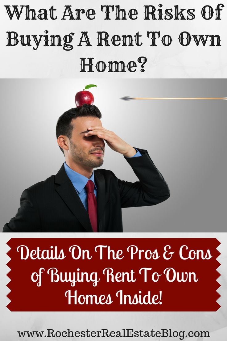What Are The Risks Of Buying A Rent To Own Home - http://www.rochesterrealestateblog.com/buying-rent-to-own-homes-real-estate/ via @KyleHiscockRE