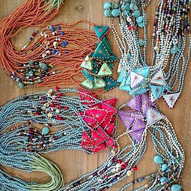 Talisman colorful necklaces