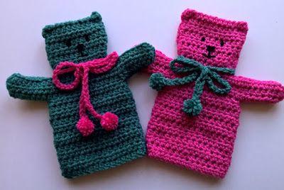 .Linda's Crafty Corner: Teddy Puppet Appeal