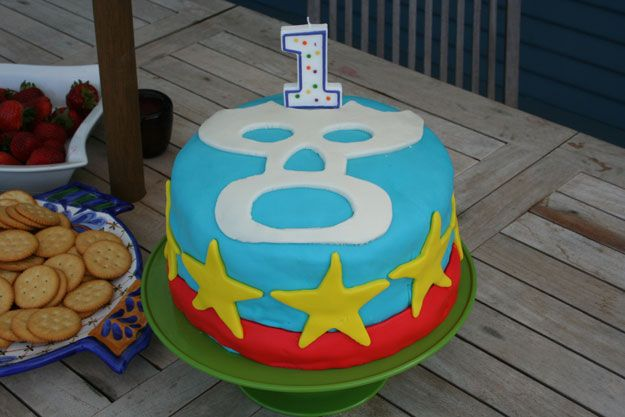 Luchador, Birthday Cake, lucha libre, Mexican Themed Party