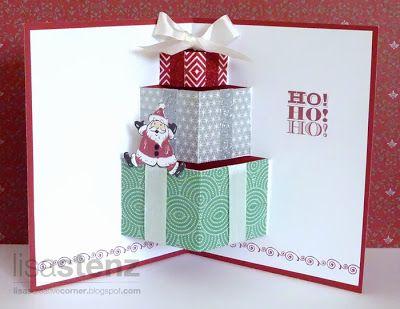 Lisa's Creative Corner: Pop-Up Christmas Card - Holidays from the Heart Blog Hop