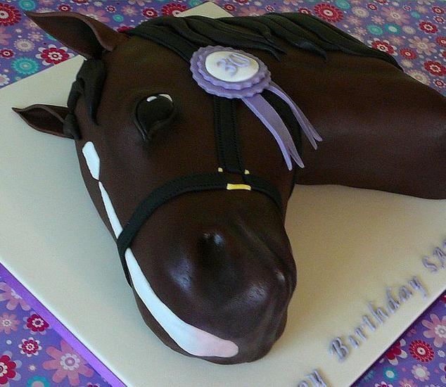 Horse Cake Photo 2