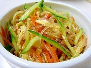 【ヘルシー!】副菜にぴったりな「春雨サラダ」の厳選レシピ10選 - NAVER まとめ