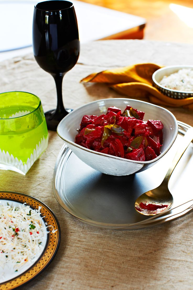 Beetroot curry recipe : SBS Food
