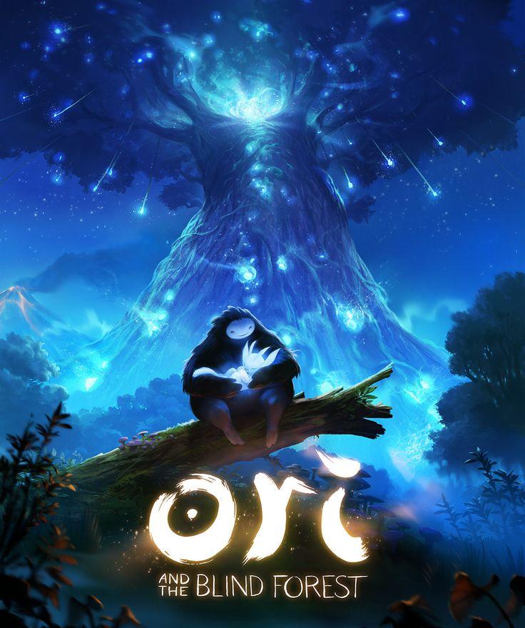 Ori and the Blind Forest, Airborn Studios on ArtStation at https://www.artstation.com/artwork/ori-and-the-blind-forest