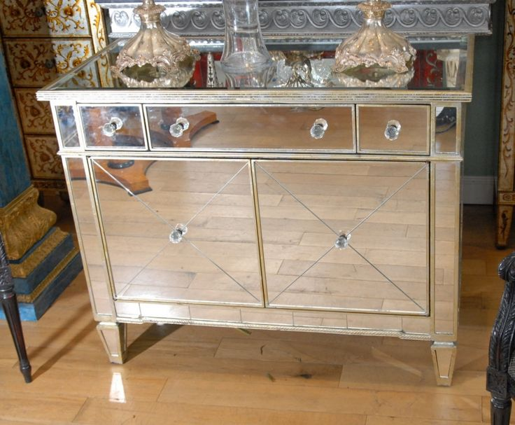 49 best Mirrored Chest Drawers images on Pinterest Chest drawers