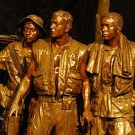 Three Servicemen Statue-Vietnam Veterans Memorial, Washington, DC