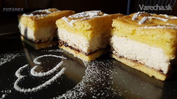 Tvarohový koláč v chlade kysnutý (fotorecept) - Recept
