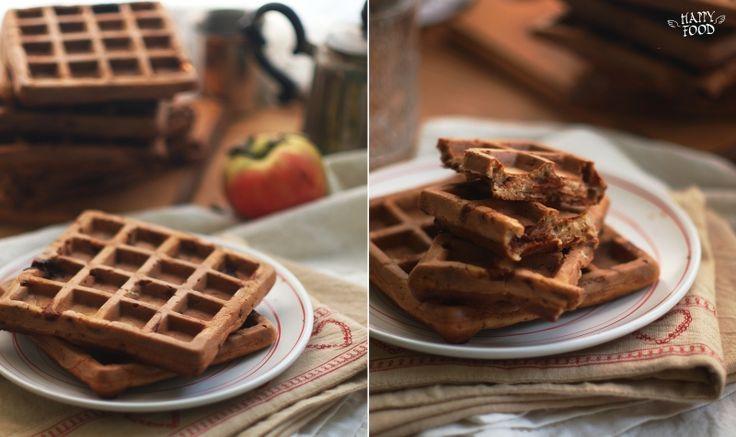 Римейк старого чут ьзабытого рецепта - прекрасный завтрак для самы родных! Ароматные и хрыстящие но при этом нежные внутри вафли с подтаевшим шоколадом -…