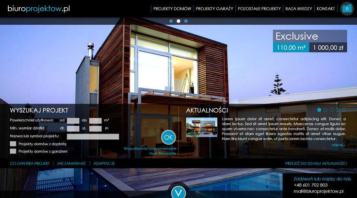 Dla naszego klienta, zbudowaliśmy portal na którym możecie dokonywać zakupów projektów domów itp.Przygotowaliśmy m.in narzędzie do porównywania projektów, importu projektów w formacie XML.