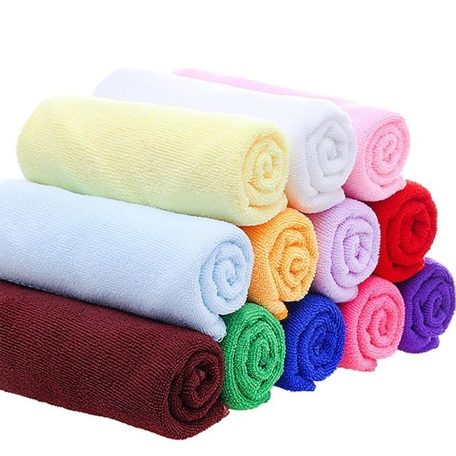Funique Bath Towels Adults Microfiber Fabric Quick Drying Travel