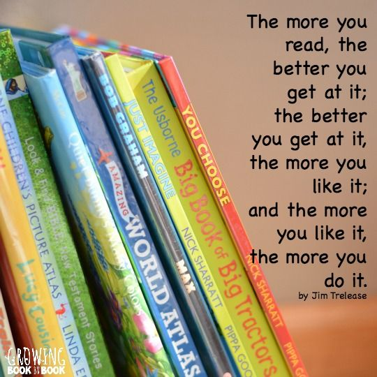 Reading every day is so important. I love this quote by Jim Trelease. Check out some other favorite reading quotes.