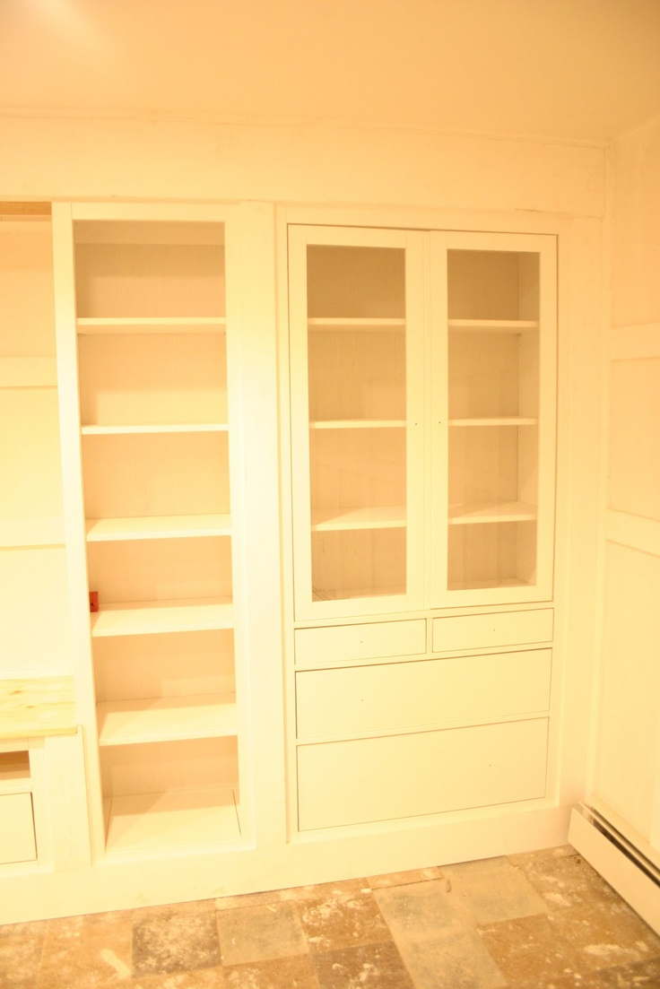 The Built Ins Part One Built Ins Bookcase Storage And