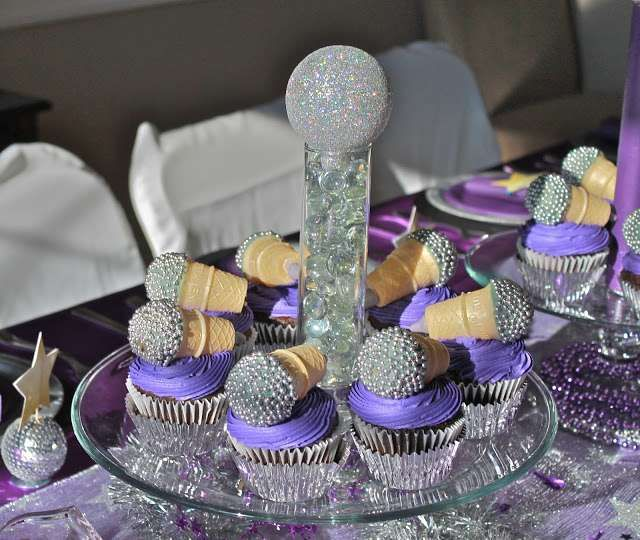 Gold and Glam Pop Star Party | CatchMyParty.com