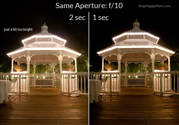 {How To Take Pictures of Scenery at Night} *Great collection of step by step explanation of settings.