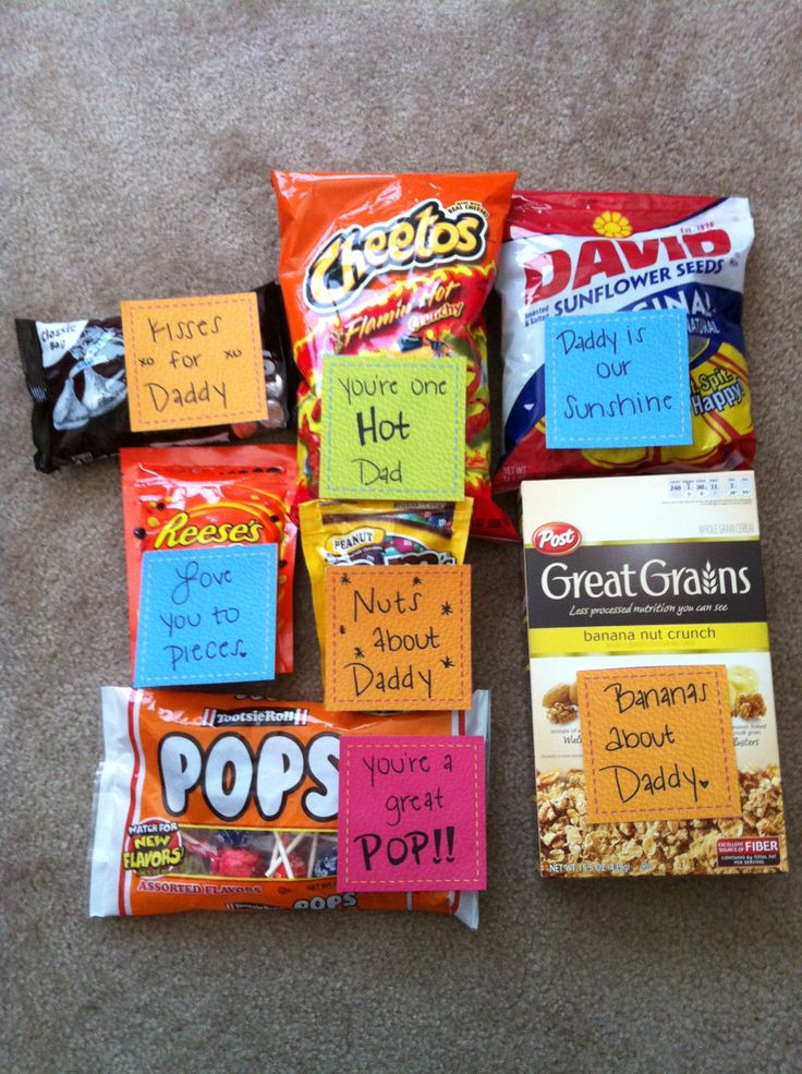 Father's Day care package idea. #fathers day #care package #deployment