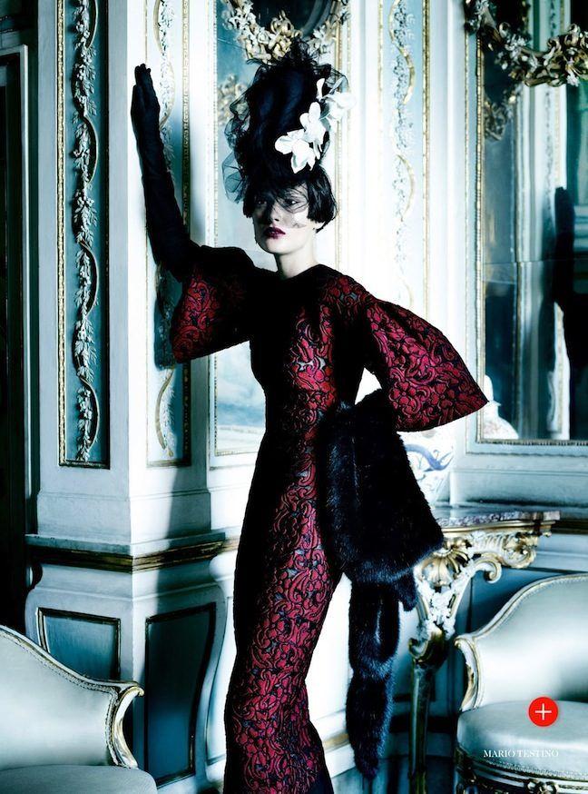 Mario Testino for US Vogue September 2013