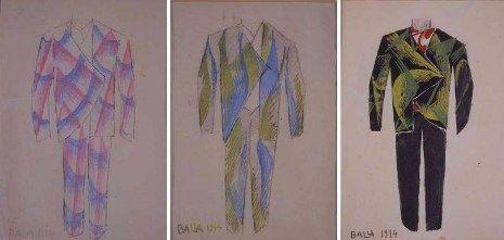 giacomo balla futurist fashion