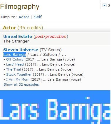 Did you guys know this? This is from http://www.imdb.com/name/nm3211555/