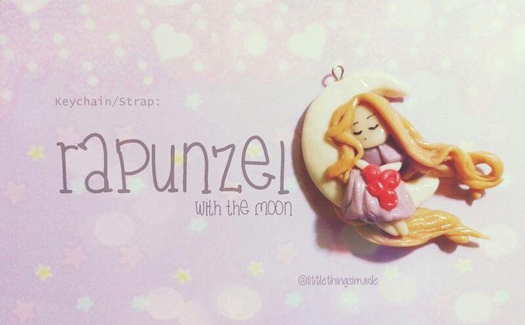 Rapunzel ♥ #coldporcelain made by me