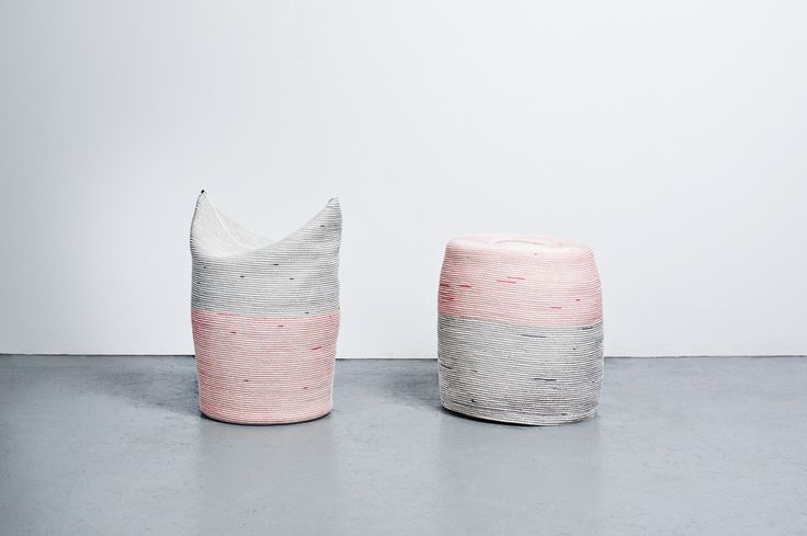 TWO STOOLS BY NEW YORK ARTIST DOUG JOHNSTON – AVAILABLE IN STORE