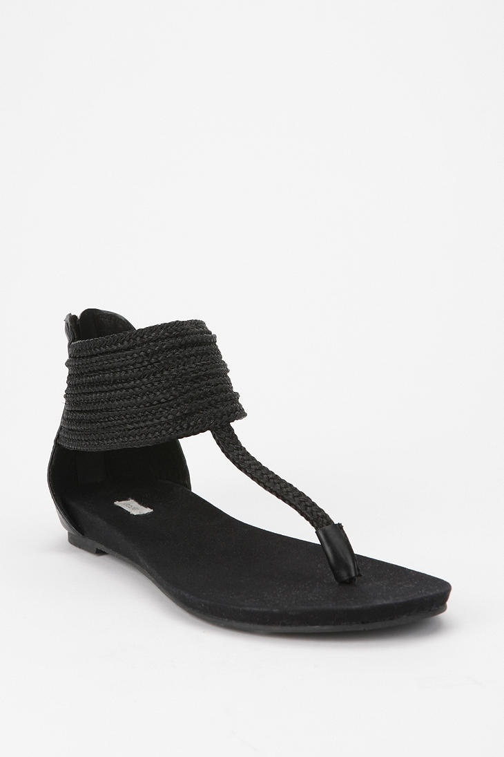 Ecote Goddess T-Strap Sandal - URBAN OUTFITTERS