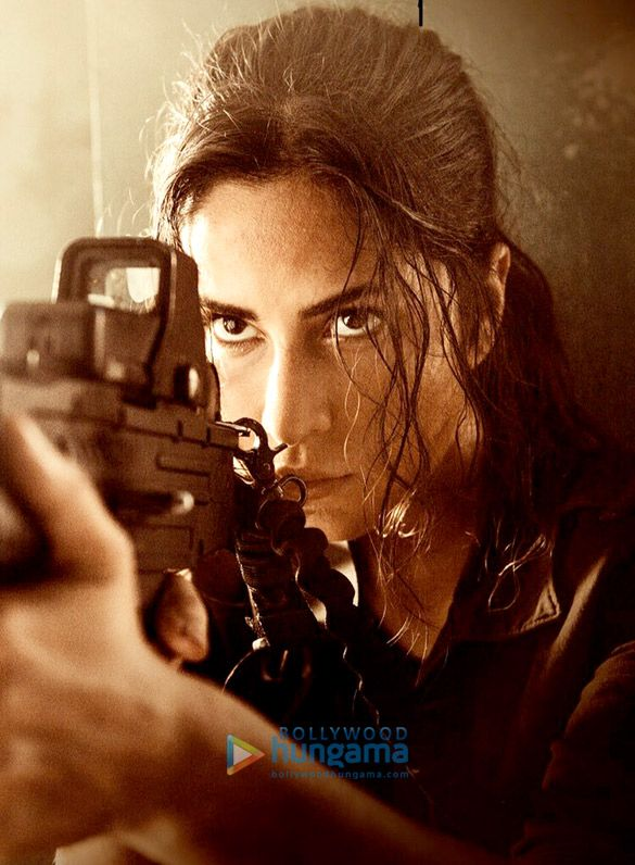 Check out Katrina Kaif's kick-ass look in Tiger Zinda Hai                                                 Yash Raj Films' forthcoming action entertainer Tiger Zinda Hai is a high-octane espionage thriller set to global standards in its scale, vision and pro...
