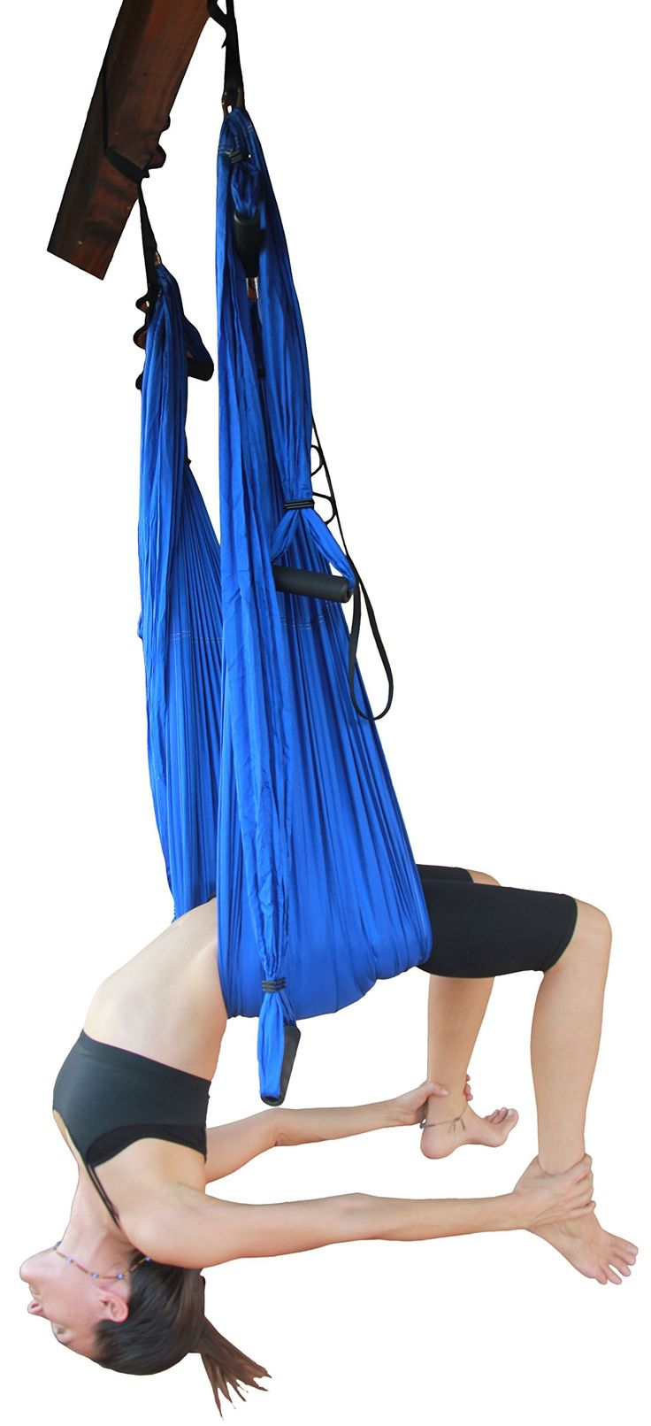 Wing Yoga Inversion Swing with Straps Blue