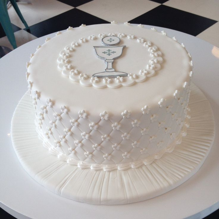 First Communion cake Más