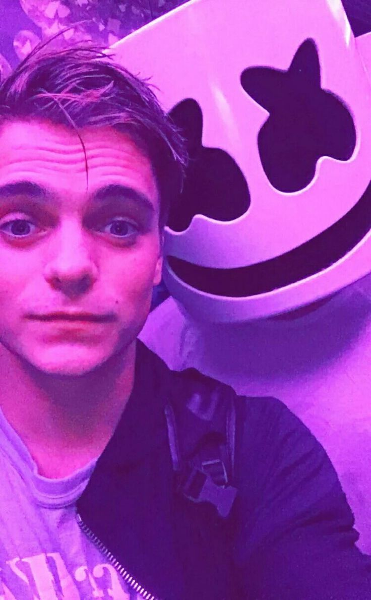 Marshmello with Martin Garrix