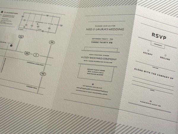 Unique Wedding Invitation Format