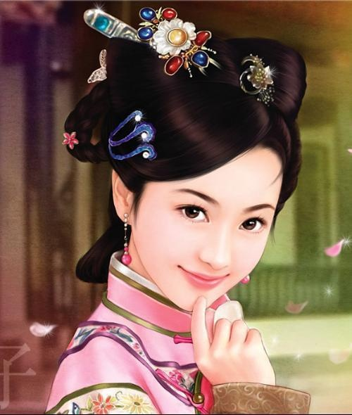 (Chinese Hairstyle 171)
