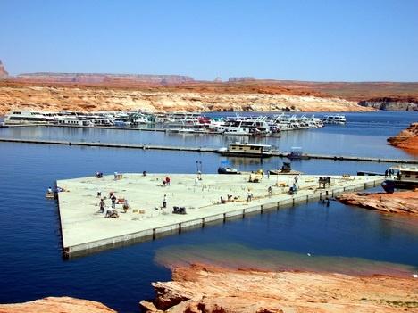 Antelope Point Village Marina - Lake Powell, Arizona Floating Structure | IMFS