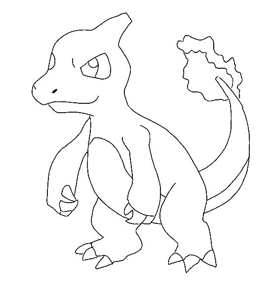 Pokemon Coloring Page - Print Pokemon pictures to color at AllKidsNetwork.com
