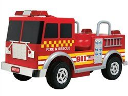Kalee Kids Play Vehicles Fire Truck 12v Red � The Toy Shop