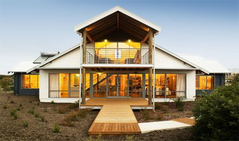 The capricorn loft two storey loft house designs perth for Loft home designs perth