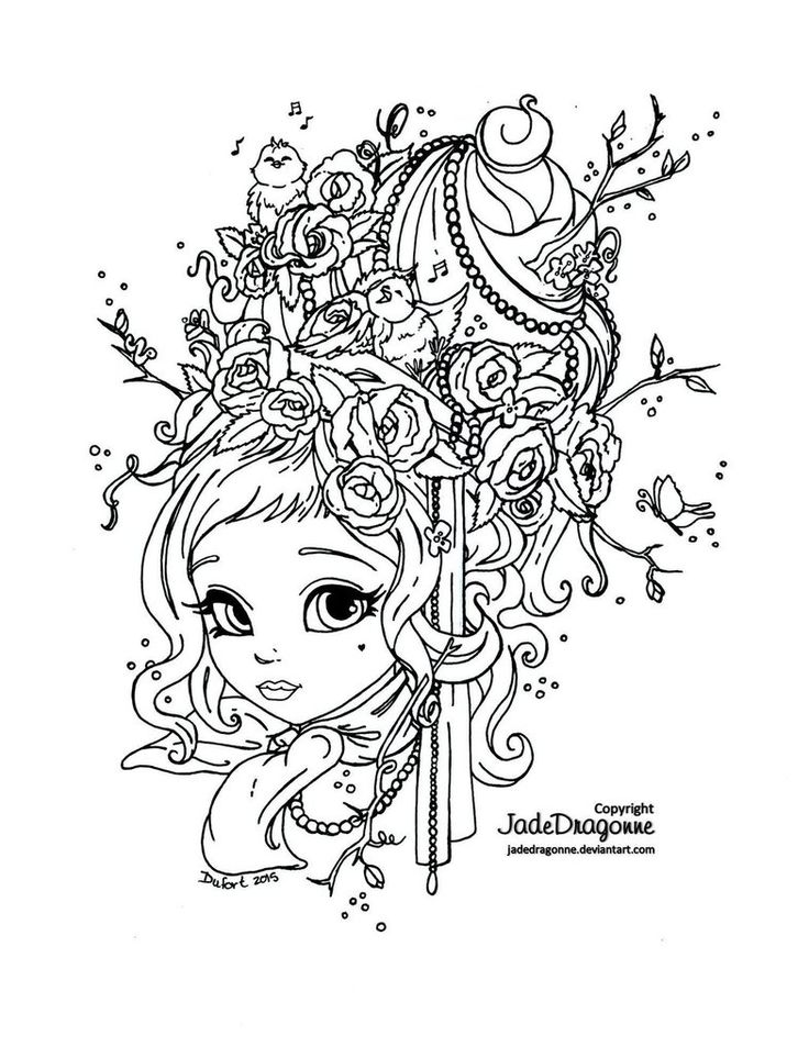 94 best Free Colouring Pages - People images on Pinterest Coloring - best of coloring page of a hair brush