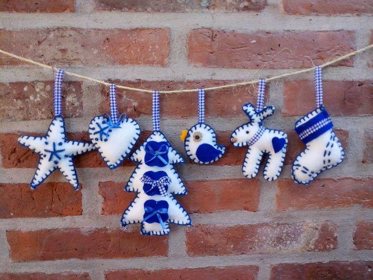 1000 ideas sobre adornos navide os para el hogar en - Ideas adornos navidenos ...