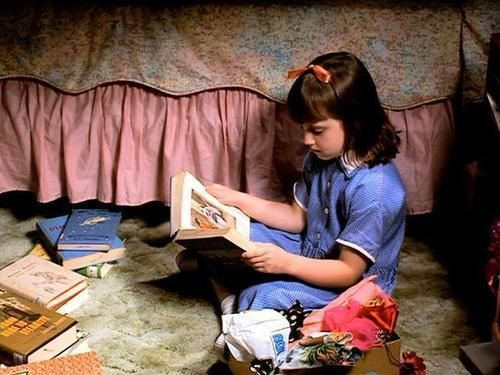 Matilda. A Roald Dahl classic brought to life. I wish someone would make The BFG into a live-action movie...it could be amazing.  KJC