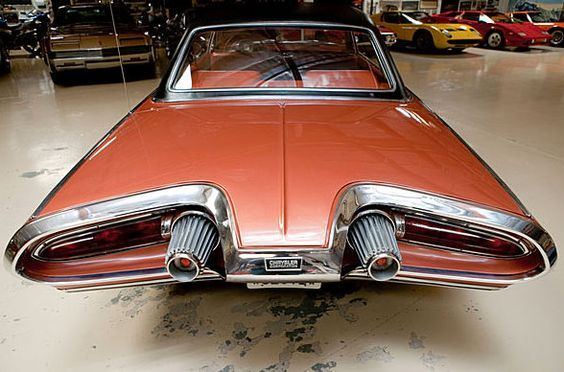 1963 Chrysler Turbine Car... THE JET AGE INFLUENCED THESE CARS, AND THEY LOOKED GREAT