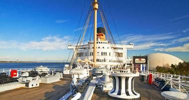 Views from the Queen Mary