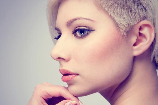 1000+ Ideas About Short Shaved Hairstyles On Pinterest