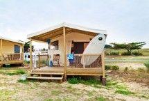 Charme camping aan zee l #safaritent Frankrijk | ZOOK.nl