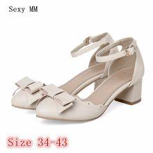 Saltos altos Das Senhoras Sapatos de Salto Alto Mulheres Stiletto Mulher Festa de Casamento Gatinho sapatos scarpin Salto Plus Size 34-40 41 42 43(China)
